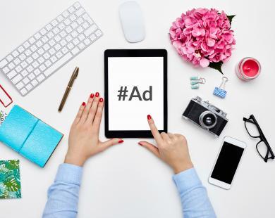 Blogger ad disclosure