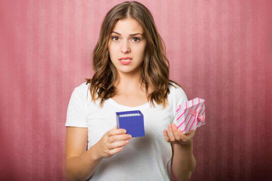 Blogger disappointed with low value gift
