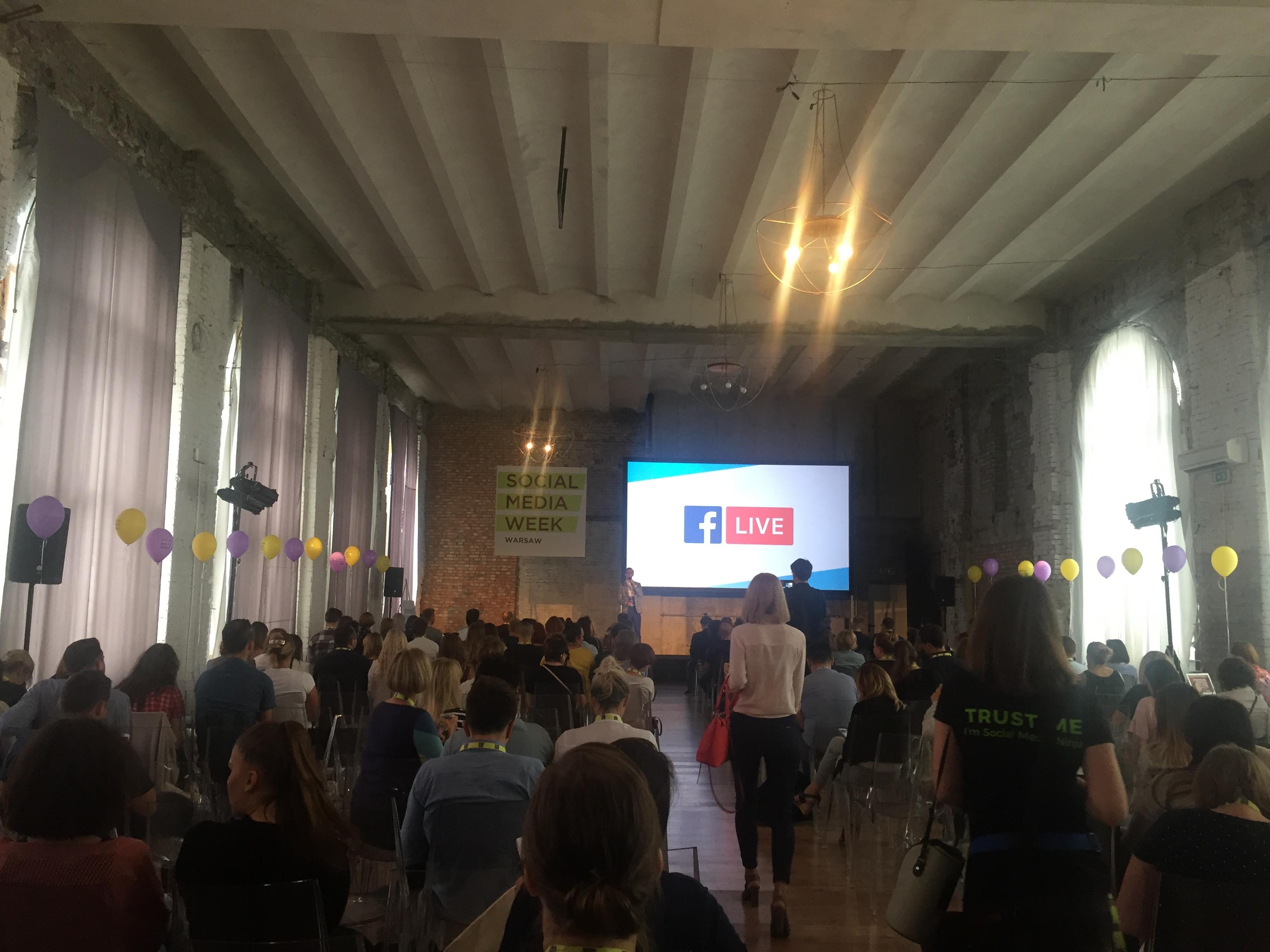 Social Media Week Warsaw Image