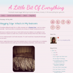 A Little Bit of Everything blog