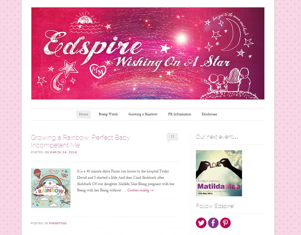 Edspire homepage screen grab