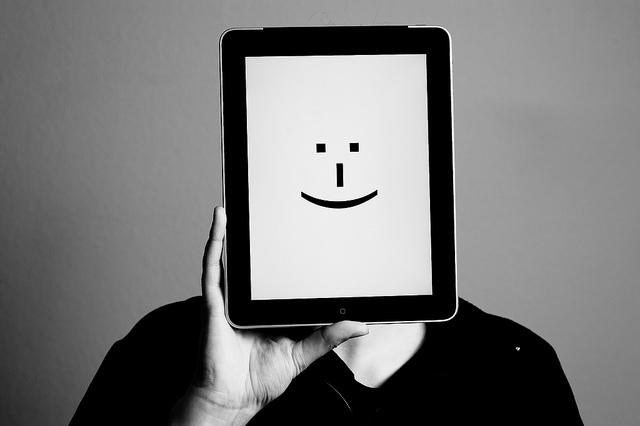Emoticon by Holger Eilhard
