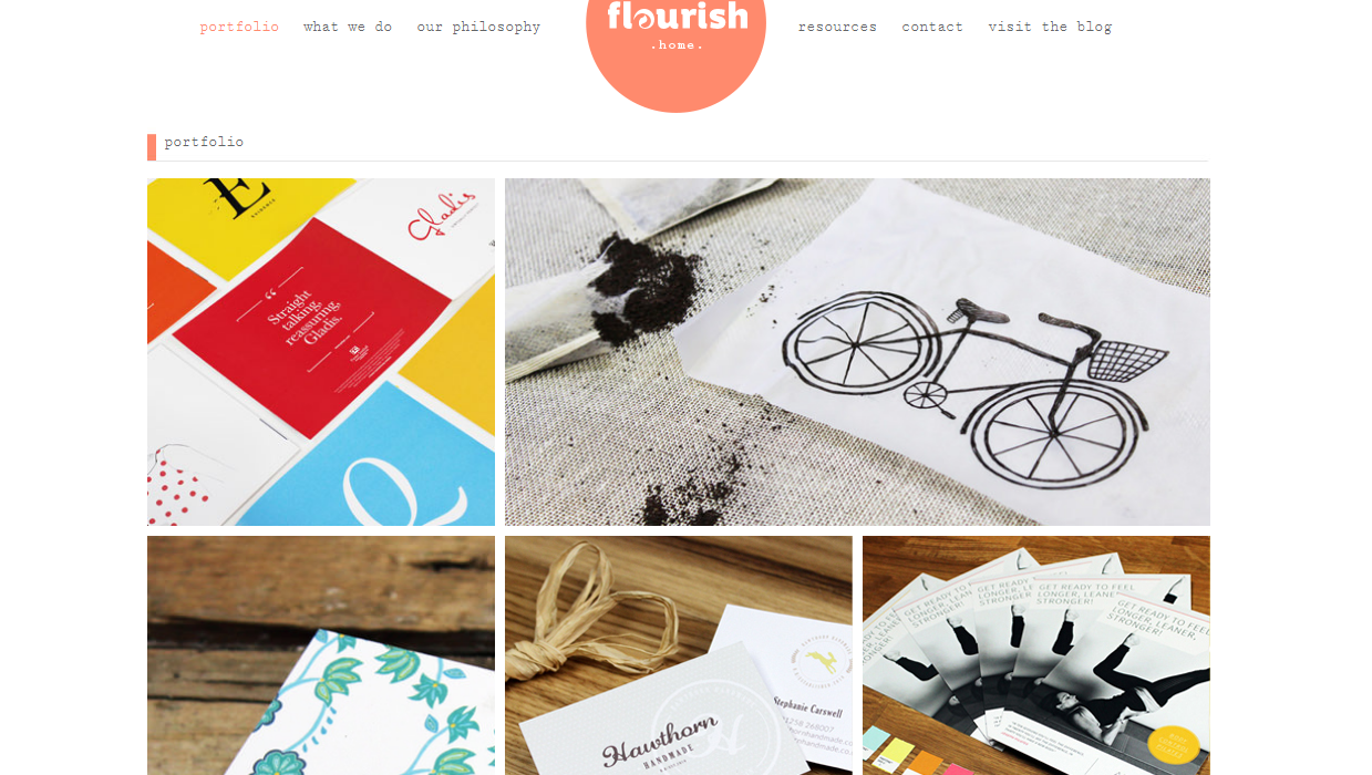 Flourish Web design