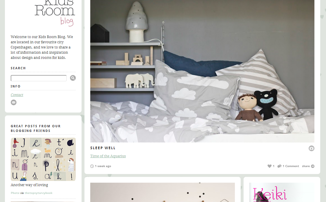 Top Five Interior Design Blogs for Children | CollectivEdge