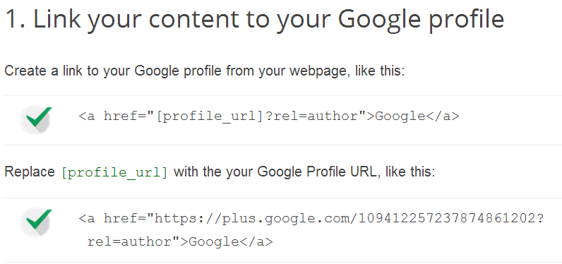 Linking Content to Your Google Plus Profile