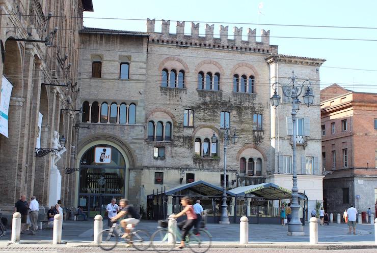 Parma city centre. Copyright Gretta Schifano