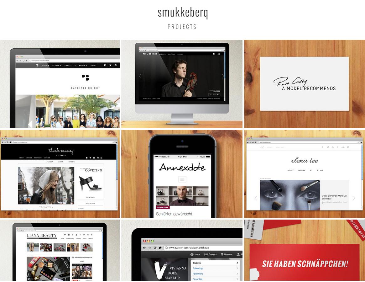 Shmukkeberg web design