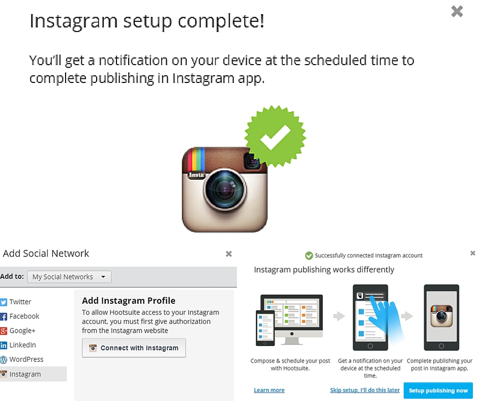 How to schedule instagram posts in hootsuite collectivedge null 2 ccuart Gallery