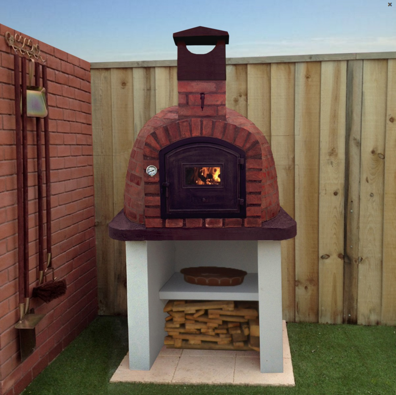 A wood-fired pizza oven from Direct Stoves